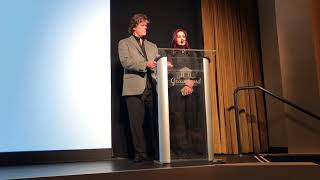 priscilla presley and jerry shilling introduce elvis presley the searcher at hbo memphis premiere