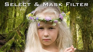 Photoshop Tutorial:  NEW Select and Mask Taskspace in Version CC