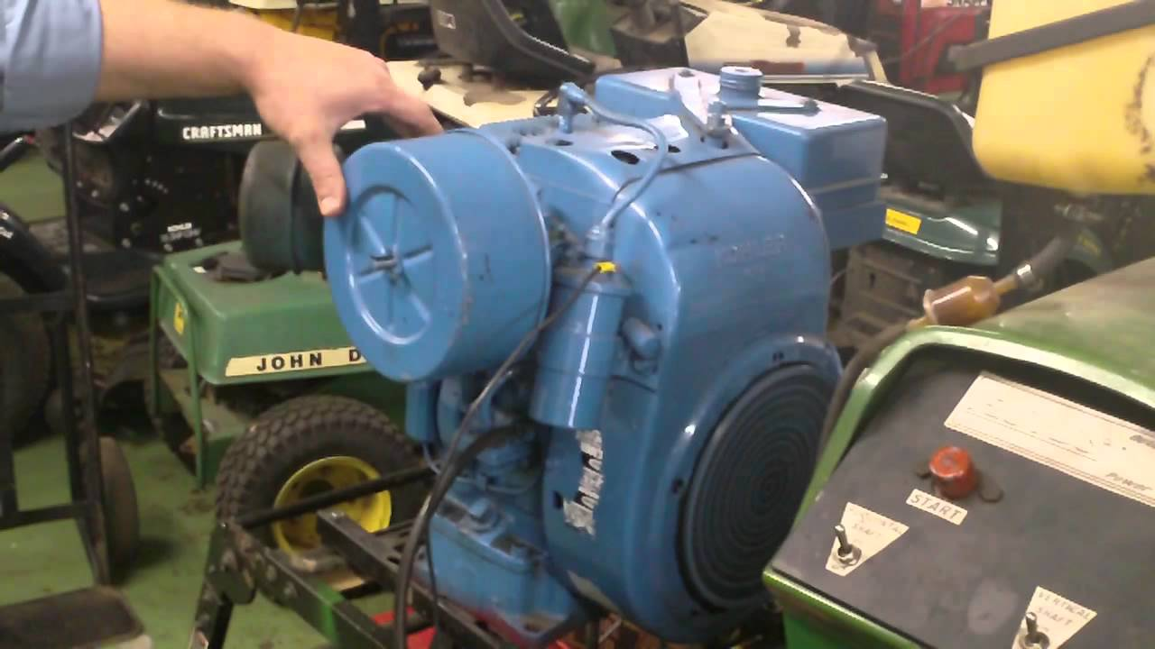 How To Wire Up A Kawasaki  Hp Engine