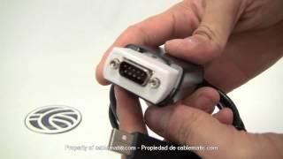 Adaptador USB a RS232 RS422 RS485 VSCOM PLUS (1-Port) distribuido por CABLEMATIC ®