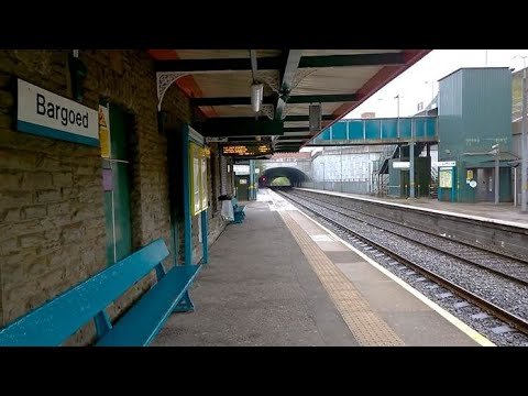 Bargoed Train Station