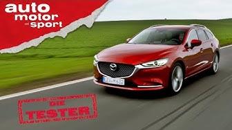 Mazda 6 Kombi Skyactiv-D 184: Die schicke Alternative zum Passat? - Test/Review   auto motor & sport