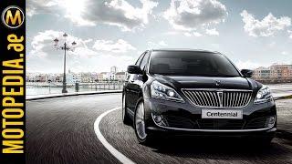Hyundai Centennial 2015 Review Motopedia.ae
