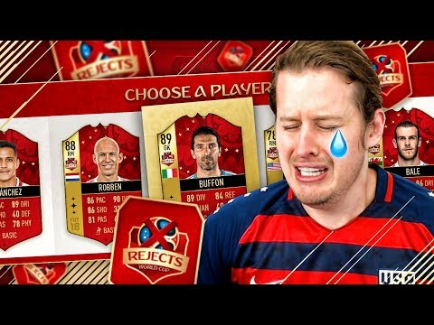 THE REST OF THE WORLD FUT DRAFT?! WORLD CUP REJECTS FUT DRAFT CHALLENGE FIFA 18 ULTIMATE TEAM