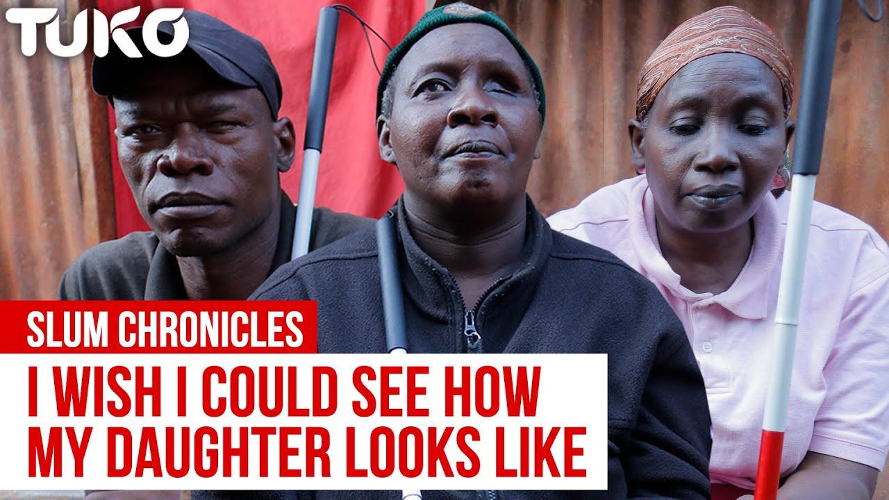 My wife lied to me and abandoned me when I became blind- Nicholas Sabwa   Tuko TV