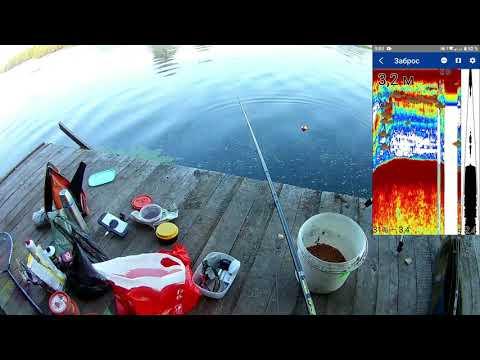 эхолот ПРАКТИК 7 WI- FI  В  РАБОТЕ (тест на реке Свислочь)