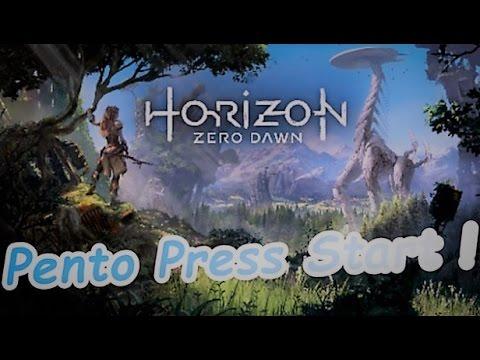 Pento Press Start : Horizon Zero Dawn