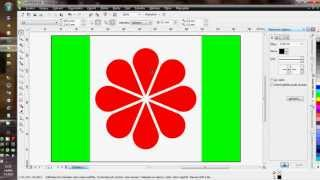 Exercise for Corel Draw - Taiwan Flag