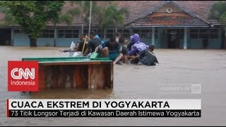 Dahsyatnya Badai Cempaka di Yogyakarta