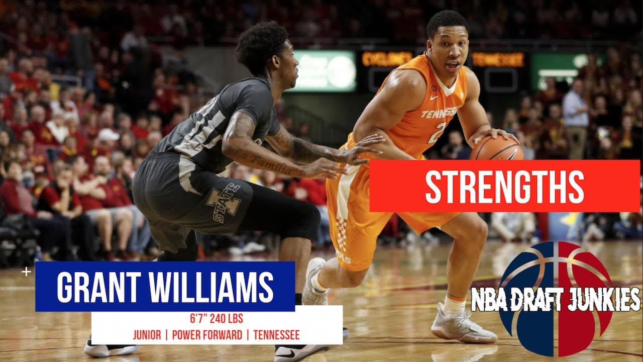 Draft Notes: Grant Williams Chosen Between 24 And 40 As The