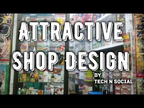 Shop Design | Counter Decoration| Bhatia | Cosmetics Shop Design | Gift Shop Design by Tech N Social