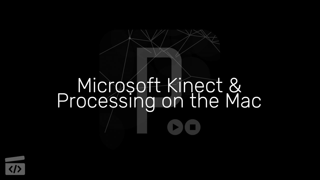 Microsoft Kinect and Processing on the Mac, Part 1: Intro