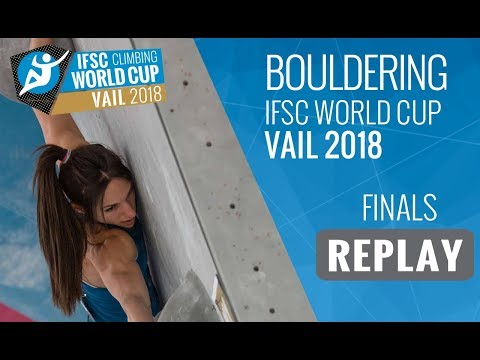 IFSC Climbing World Cup Vail 2018 - Bouldering - Finals - Men/Women