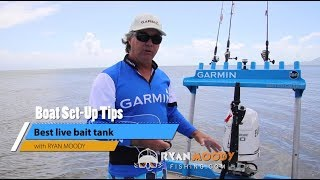 Best bait tank - How to keep live bait alive without using a pump.