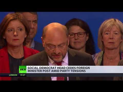 Grand slam: German leader of Social Democrats no longer seeks ministerial post