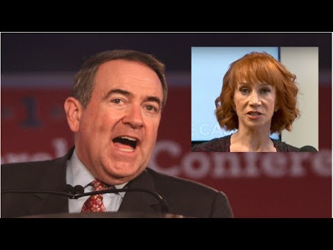 RIGHT AFTER KATHY GRIFFIN PRESS CONFERENCE MIKE HUCKABEE GOT THE PERFECT REVENGE!