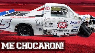 DESTRUÍ MI COCHE **Carrera NASCAR Chiapas** | JUCA