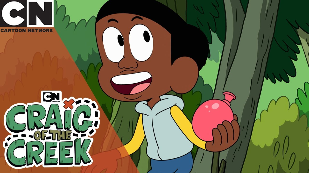 Craig of the Creek | Water Balloon Fight  | Cartoon Network UK 🇬🇧