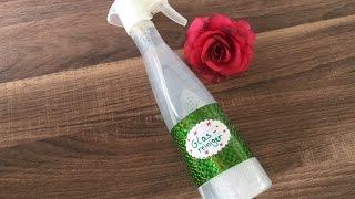 DIY Glasreiniger herstellen, Haushaltsreiniger für Küche, Bad, einfach und schnell