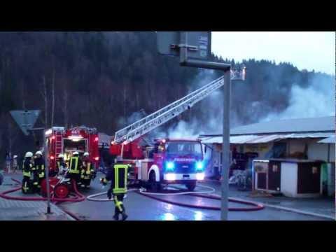 LF 16/12 + DLK 23/12 + TLF 16 + MTW Feuerwehr Klingenthal