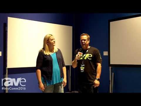 InfoComm 2016: Gary Kayye Interviews Wendy Cox About the Da-Lite Fast-Fold NXT