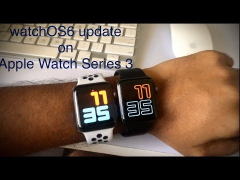 WatchOS 6 On Apple Watch Series 3
