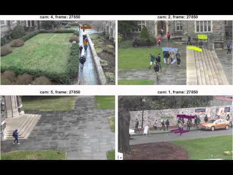Tracking social groups within and across cameras