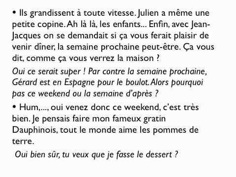 French Lesson Invitation A Diner Doovi
