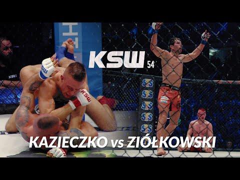 KSW 54: Marian Ziółkowski vs Maciej Kazieczko