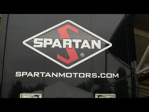 Checking out the Spartan Motors RV motorhome chassis