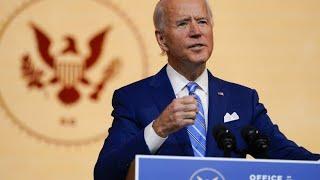"""Joe Biden: """"Wir befinden uns im Krieg mit dem Virus"""""""