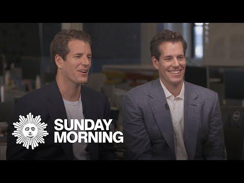Bitcoin Entrepreneurs Tyler And Cameron Winklevoss.