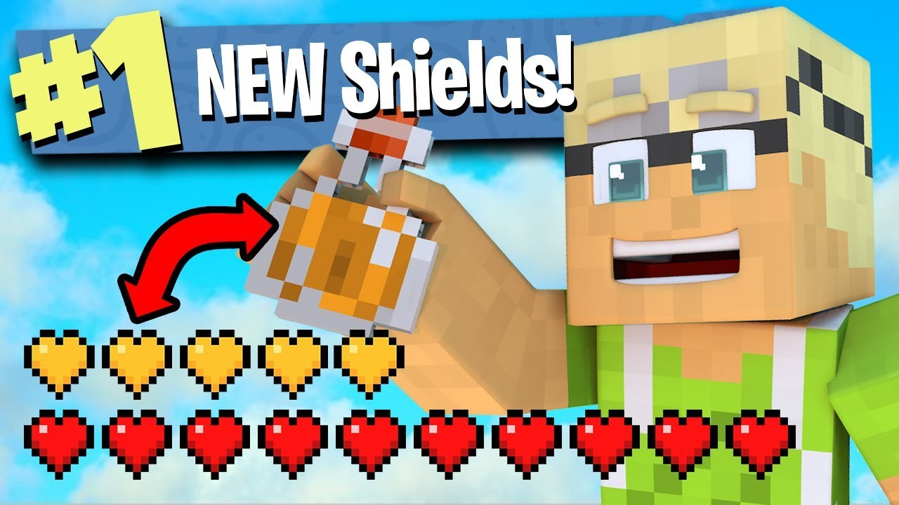 Minecraft Battle Royale New Shield Potions W