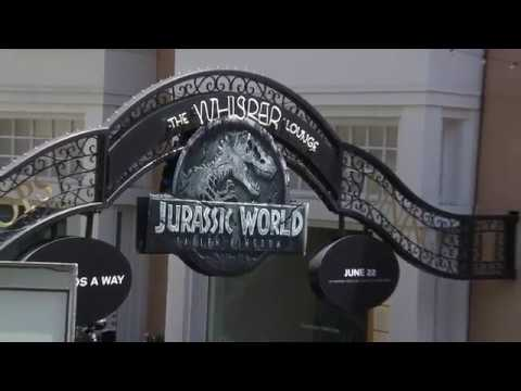 Jurassic World Fallen Kingdom  - Amazon Unboxing Event At The Grove LA (official Video)