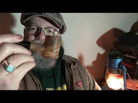 Christmas Night. New Olive Wood Pipe—  W.T. Kirkman Lanterns
