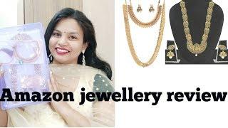 Temple jewellery haul || Amazon great India sale haul video in Telugu