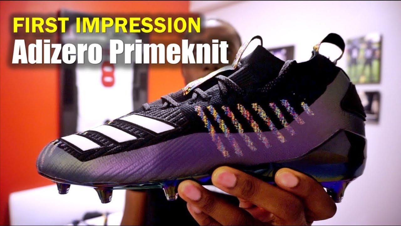 007aef73c8b7 ADIDAS Adizero 8.0 Primeknit (AAG) Football Cleats: 1st Impression ...