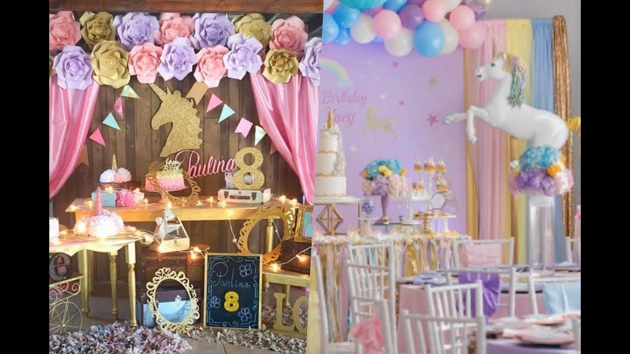 Ideas De Unicornio Para Baby Shower