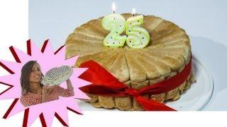 Torta di Compleanno - Charlotte con Pistacchi e Cioccolato - Le Ricette di Alice