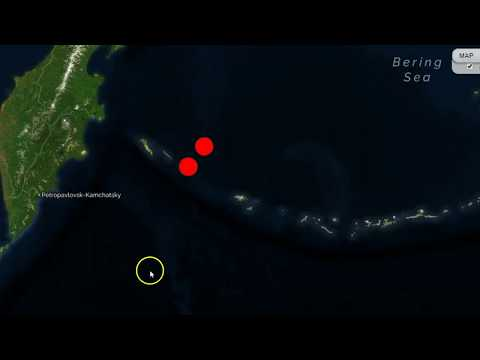 UPGRADED 7.7 Earthquake Hits In Bering Sea, Potential Tsunami Threat for Russia