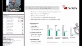 Вебінар DOCFLOW: «Автоматизація електронного документообігу з контрагентами: інструкції новини»