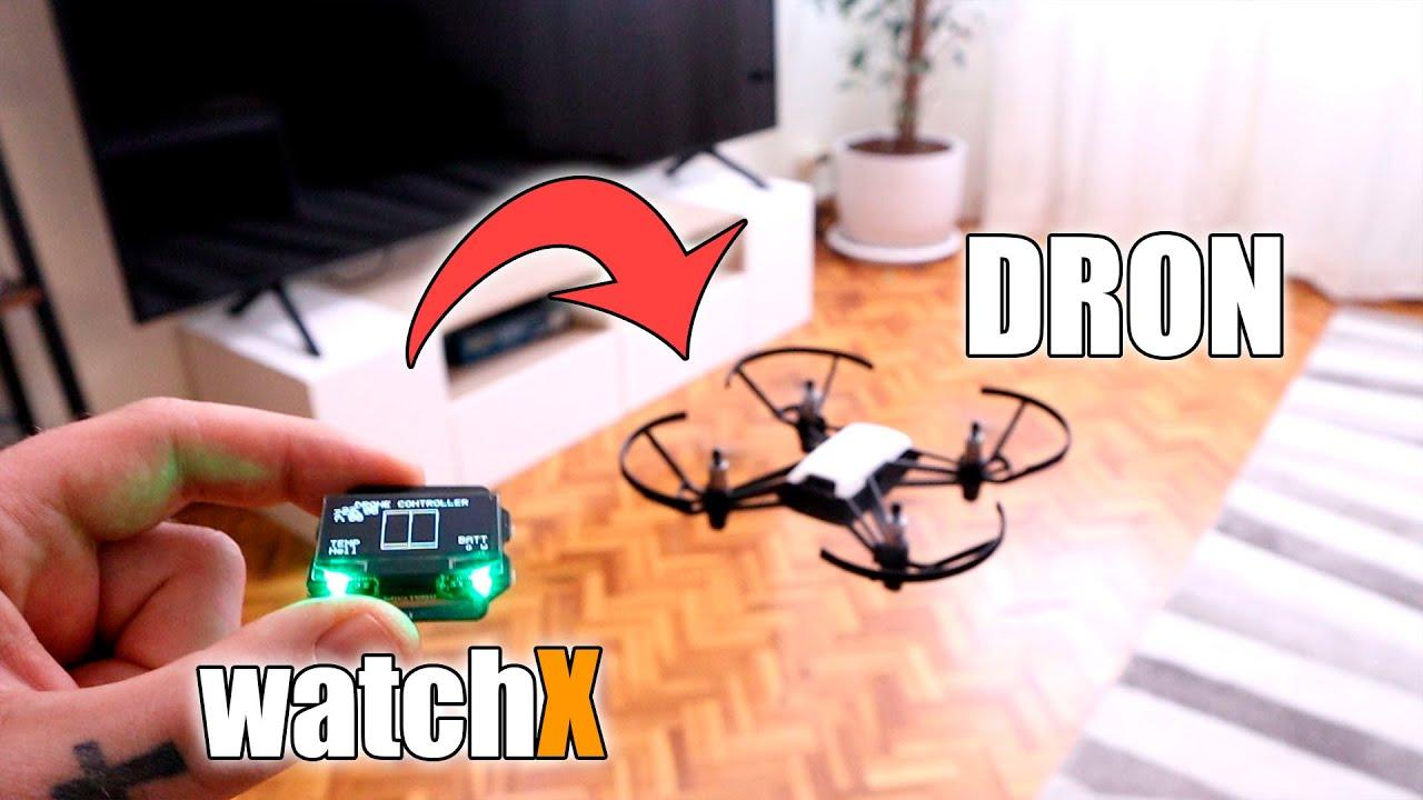 Volar Dron Con Un Reloj | Arduino WatchX