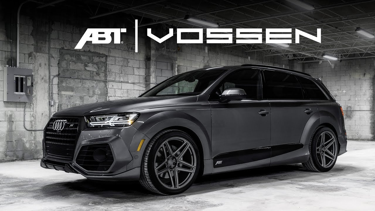 abt x vossen audi q7 das projekt daniel abt youtube. Black Bedroom Furniture Sets. Home Design Ideas