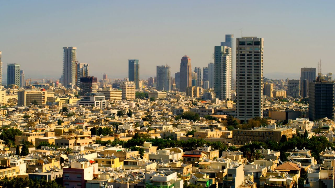 Royalty Free Stock Video Footage Of A Panoramic Tel Aviv