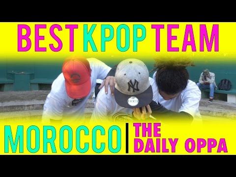 BEST KPOP DANCE TEAM MOROCCO | The Daily Oppa