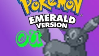Pokemon Emerald WiFi Battle- The Reproduced Narrations of Awesome: Battle #1- Biological Umbreon