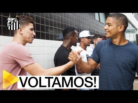 VOLTAMOS: os BASTIDORES da reapresentação do Santos FC