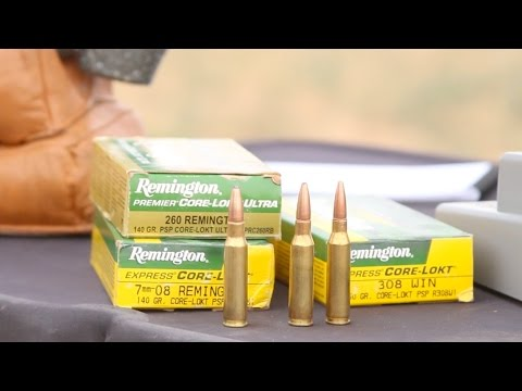 308 Winchester Beat By 7mm-08 Rem. And 260 Rem.