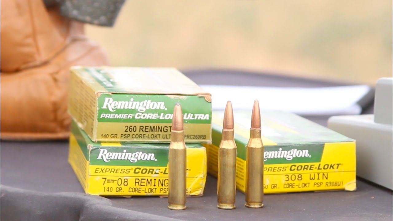 308 Winchester Beat by 7mm-08 Rem  and 260 Rem