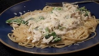 Chicken Alfredo With Baby Broccoli - E88